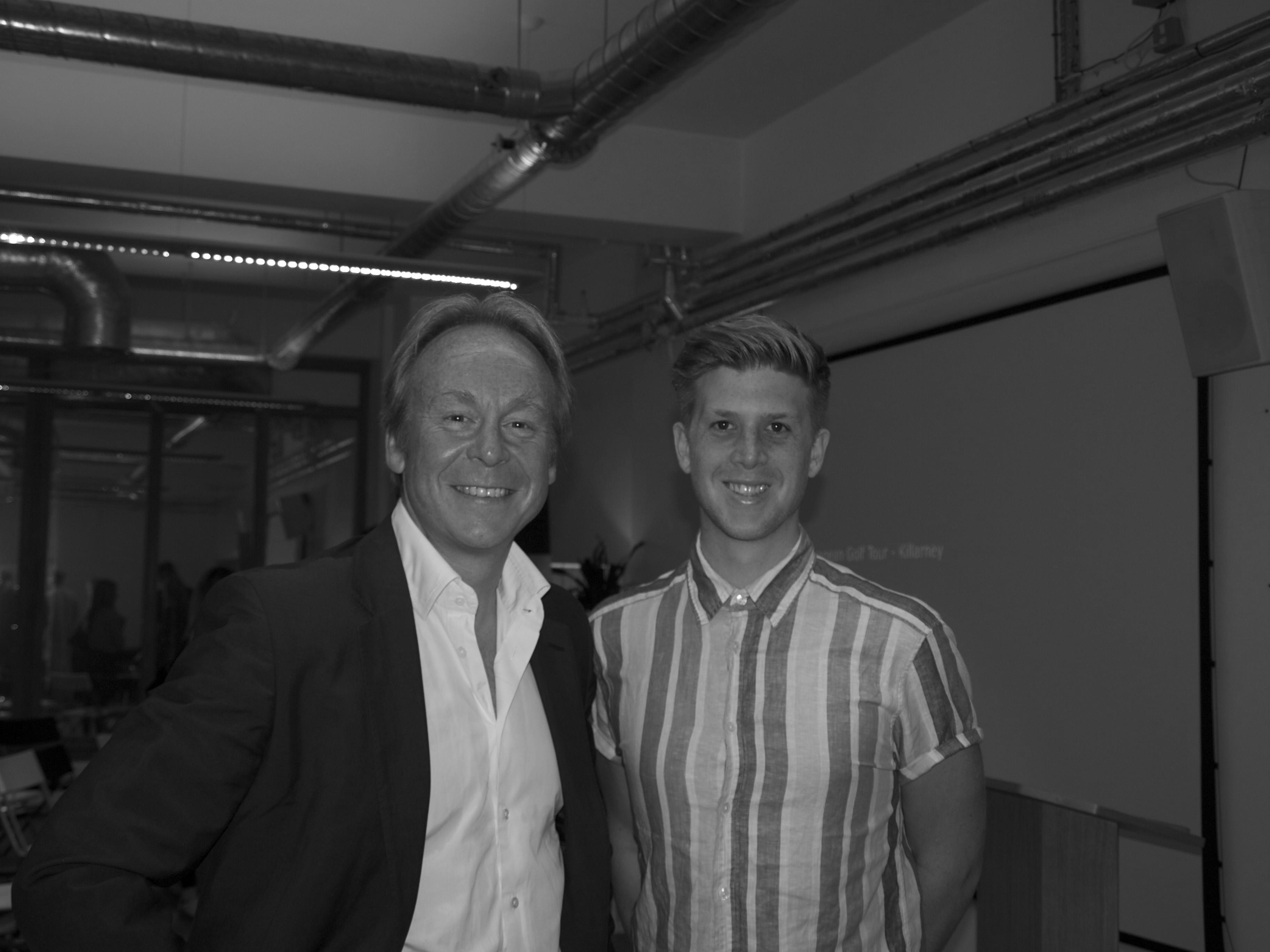 Carl Malia with Robert Senior